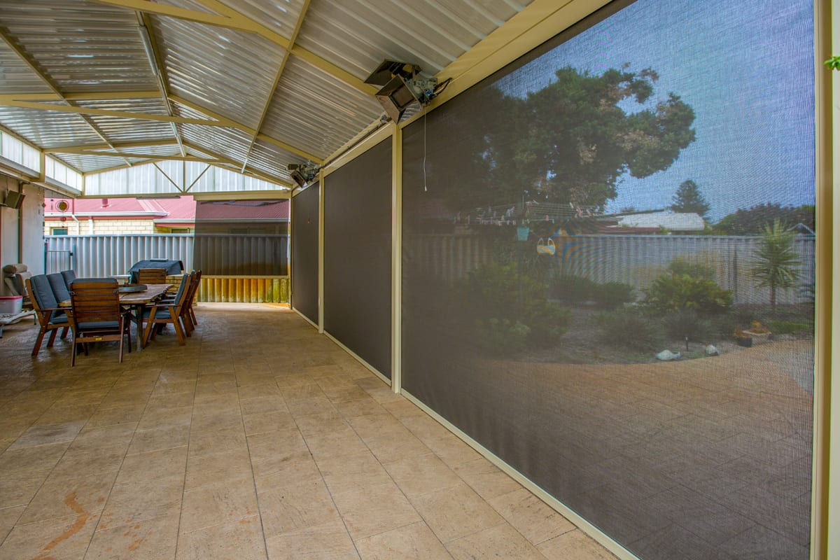Outdoor Patio Blinds Perth
