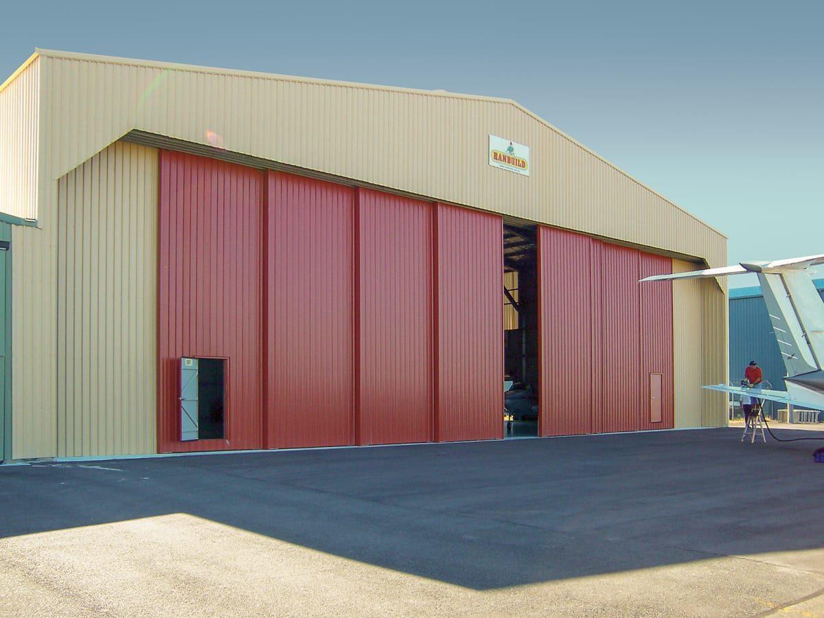 Aircraft Hangar - Outdoor World