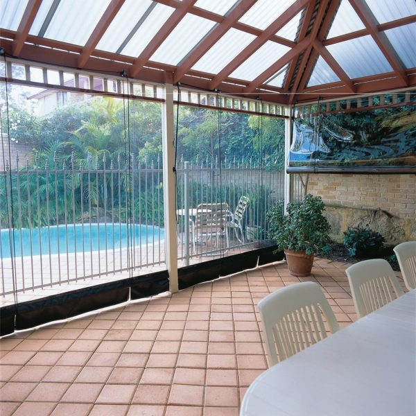Outdoor Patio Blinds - Commercial (Cafe)