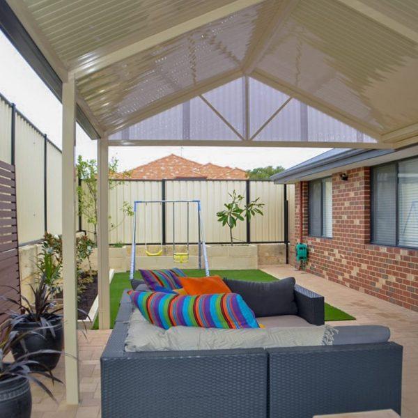 Gable Patio in Perth - Flatdek Roof