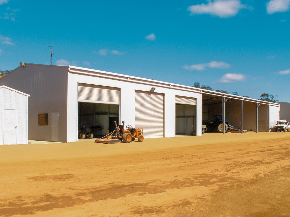 Industrial Shed (farm shed) - Outdoor World