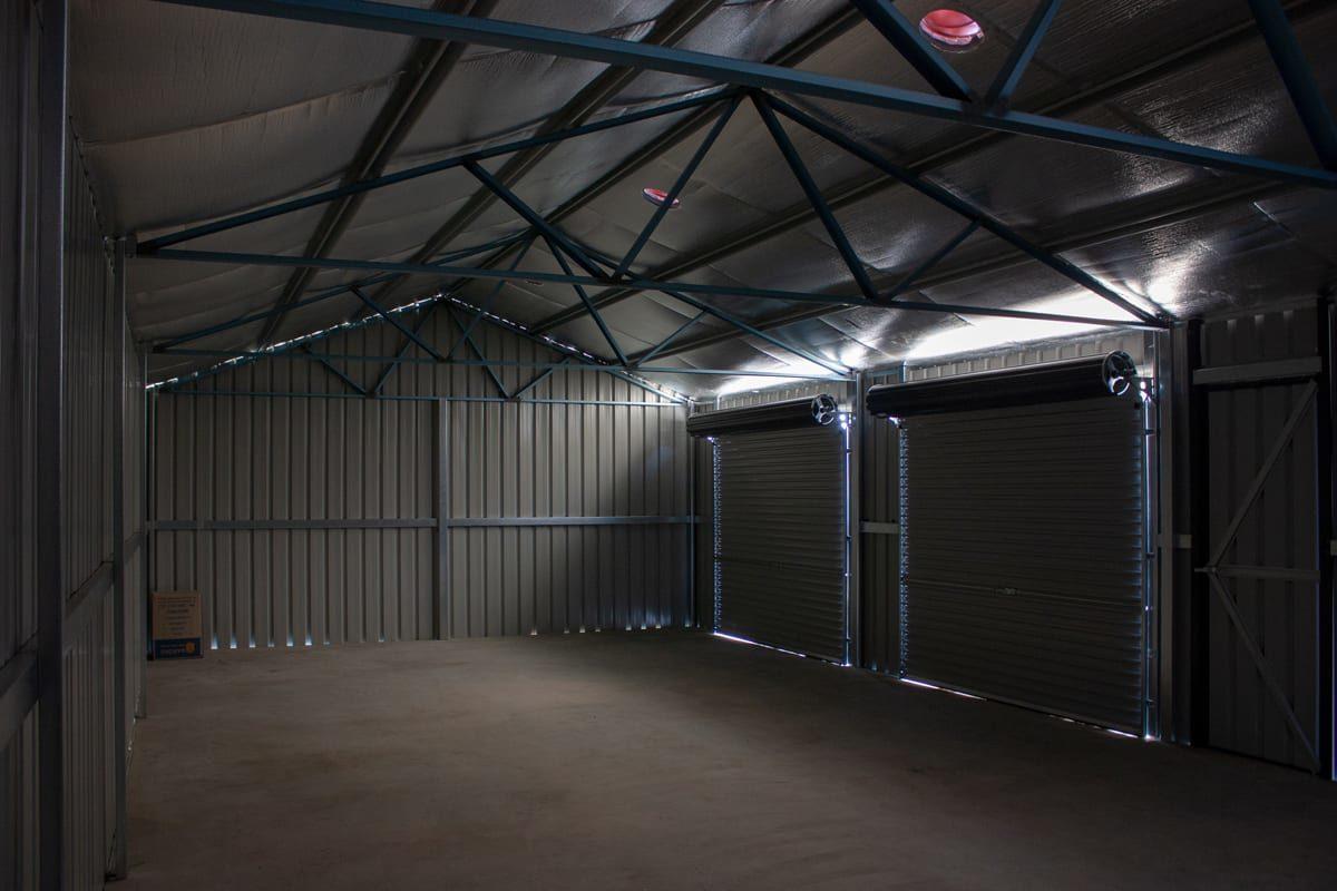 Garage Interior - Custom Garage - Outdoor World