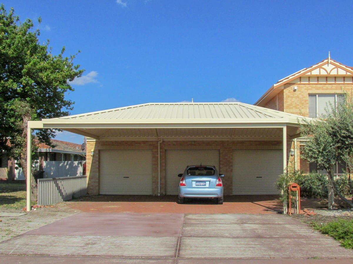 Car in carport of home in Perth