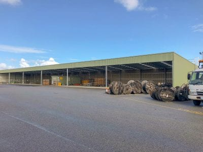 Industrial Storage Shed - Public Transport Authority - Welshpool