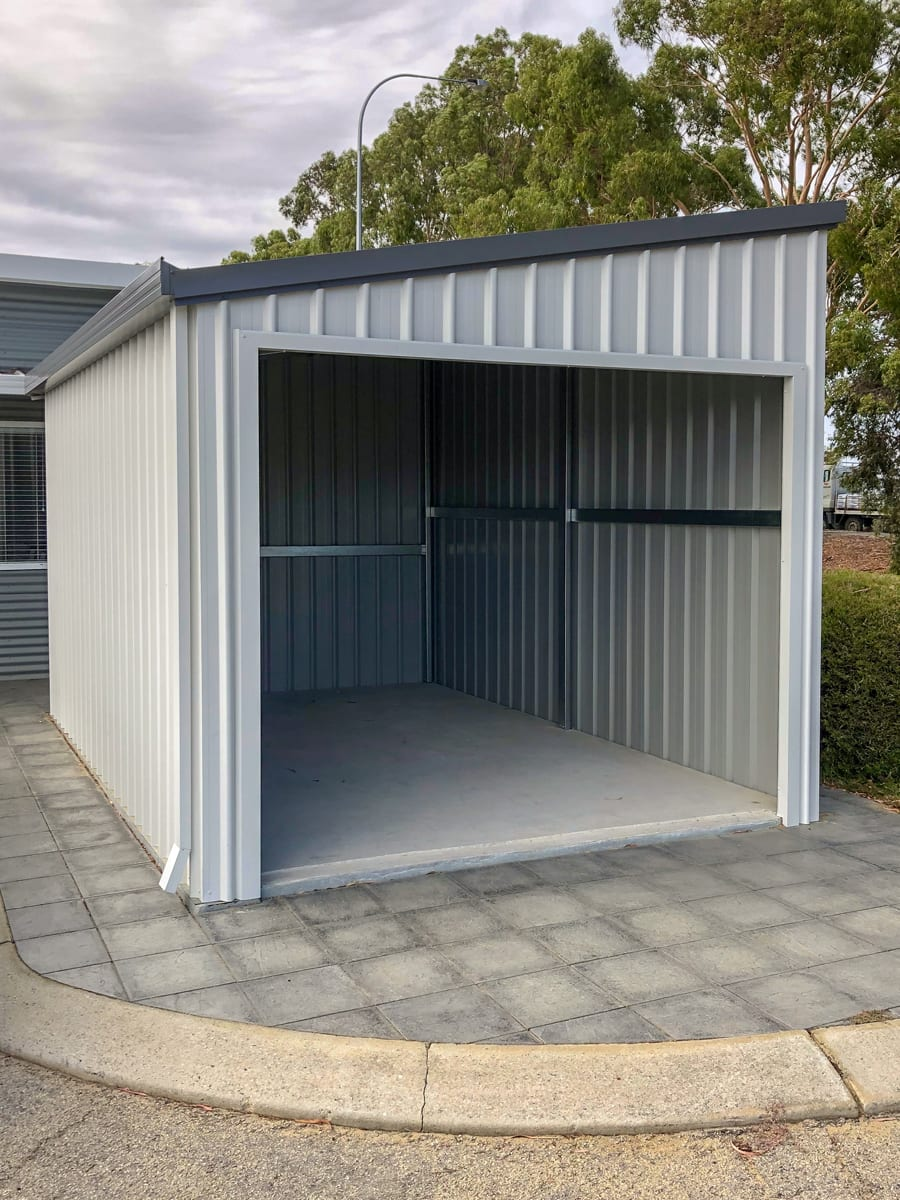Wangara Display Completed Shed