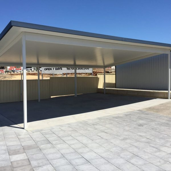 c beam sspan skillion - insulated roof patio in Perth