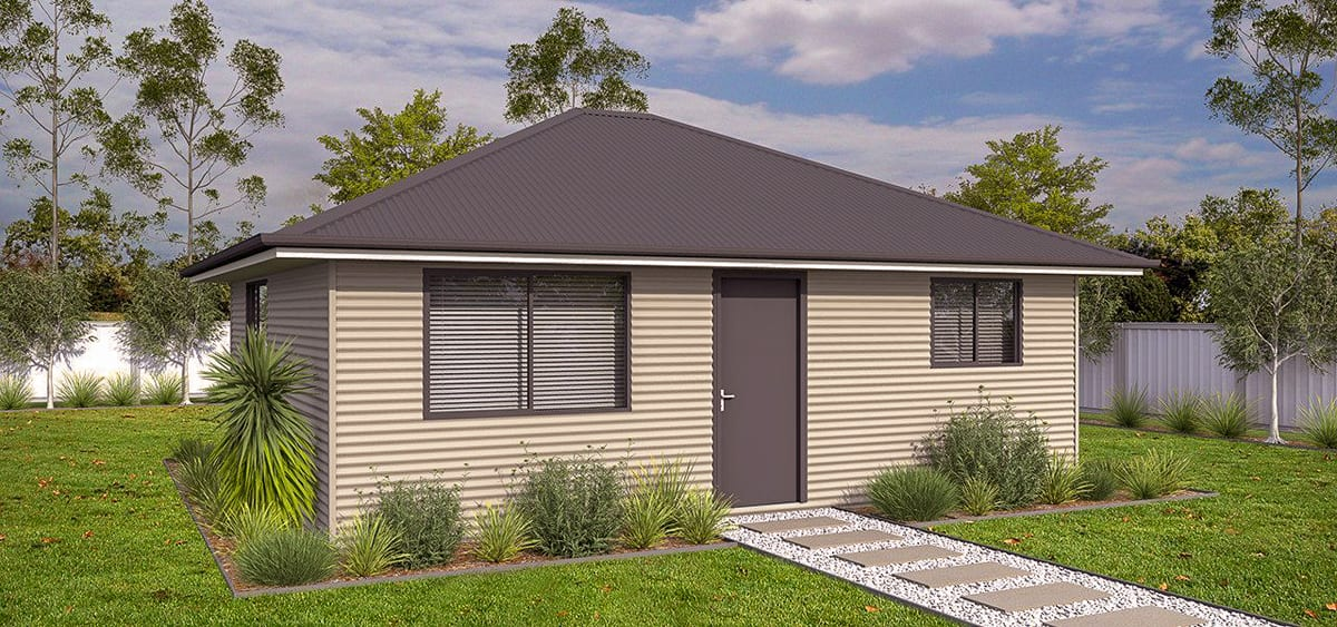 Hobby Hut Granny Flat - Backyard Shacks | Granny Flat Designs