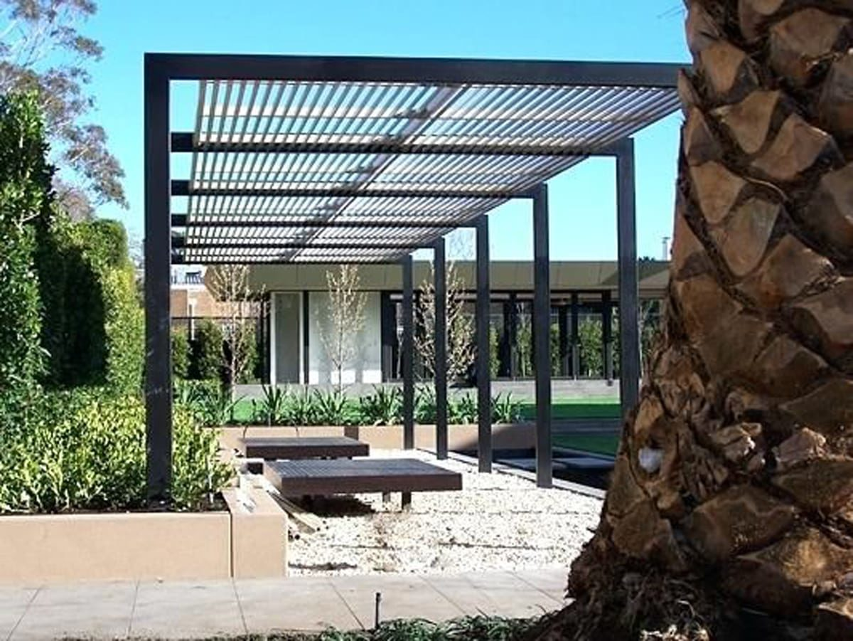 Steel Pergola Patio (Perth)