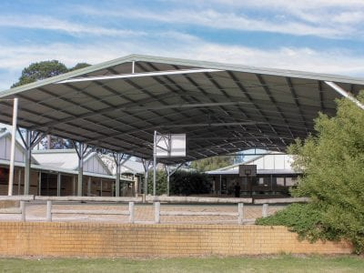 Winthrop PS - Basketball Court Shade Structure_001