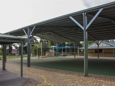 Winthrop PS - Basketball Court Shade Structure_002
