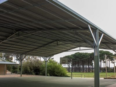 Winthrop PS - Basketball Court Shade Structure_003