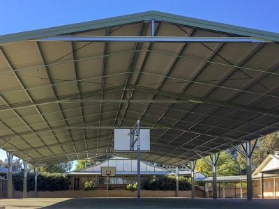 Winthrop PS - Basketball Court Shade Structure_004