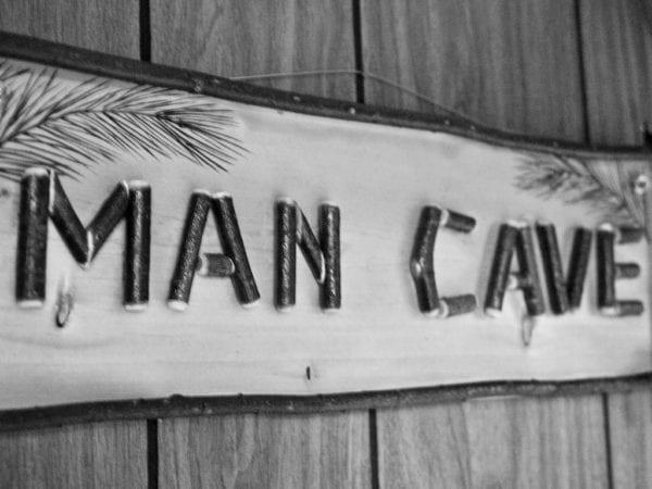 Man Cave Sign | Granny Flats Western Australia