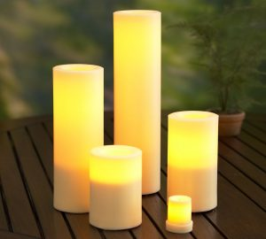 Outdoor Candle (Patio Lighting concept)