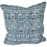 Indigo Batik cushion for Outdoor Living