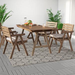IKEA indoor/outdoor rug for outdoor living