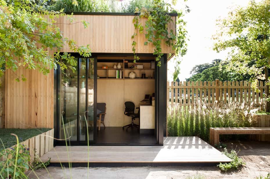 Convert Your Shed into a Work-From-Home Office