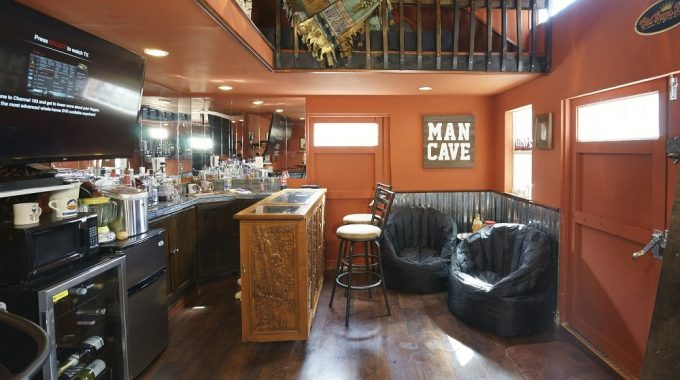 Man Cave (Shed Transformation)