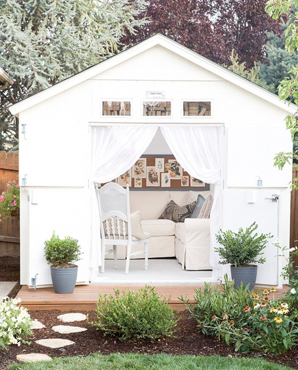 Shed Transformation Design Ideas You'll Love